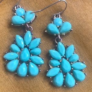 Jewelry - JUST IN BOHO  Turquoise Earrings